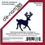 Die-Namites - Christmas - Die - Floral Deer