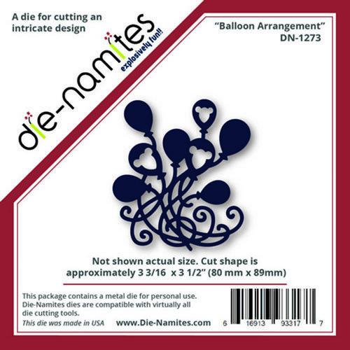 Die-Namites - Die - Balloon Arrangement