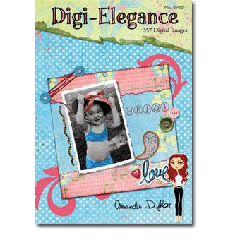 Design Originals - Digi-Elegance - 357 Digital Images - Tim Holtz