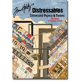 Design Originals - Tim Holtz - Distressables - Papers and Frames