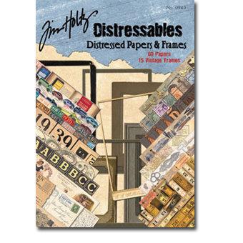 Design Originals - Tim Holtz - Distressables - Papers and Frames
