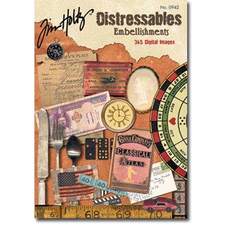 Design Originals - Tim Holtz - Distressables - Elements