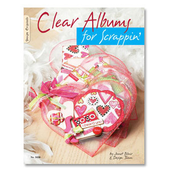 Design Originals - Idea Book - Clear Albums for Scrappin - Acrylic Ideas