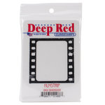 Deep Red Stamps - Cling Mounted Rubber Stamp - Filmstrip