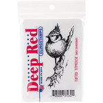 Deep Red Stamps - Cling Mounted Rubber Stamp - Tufted Titmouse