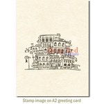 Deep Red Stamps - Cling Mounted Rubber Stamp - Village Shoppes