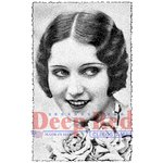 Deep Red Stamps - Cling Mounted Rubber Stamp - Vintage Glamour