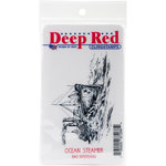 Deep Red Stamps - Cling Mounted Rubber Stamp - Ocean Steamer
