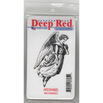 Deep Red Stamps - Cling Mounted Rubber Stamp - Archangel