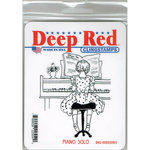Deep Red Stamps - Cling Mounted Rubber Stamp - Piano Solo