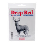 Deep Red Stamps - Cling Mounted Rubber Stamp - Buck Deer