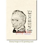 Deep Red Stamps - Cling Mounted Rubber Stamp - Lost My Mind