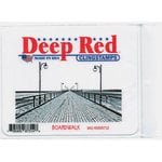 Deep Red Stamps - Cling Mounted Rubber Stamp - Boardwalk