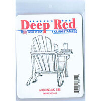 Deep Red Stamps - Cling Mounted Rubber Stamp - Adirondack Life
