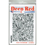 Deep Red Stamps - Cling Mounted Rubber Stamp - Rocks Background