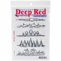 Deep Red Stamps - Cling Mounted Rubber Stamp - Natures Borders