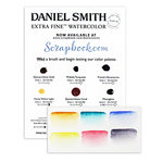 Daniel Smith - Extra Fine Watercolor - Sampler Dot Try It Card - Variety 1