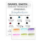 Daniel Smith - Extra Fine Watercolor - Sampler Dot Try It Card - Variety 2