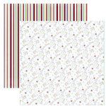 Dream Street Papers - Everyday Celebrations Collection by Dana Miron - 12x12 Double Sided Paper - Make A Wish, CLEARANCE