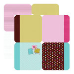 Dream Street Papers - Hugs -n- Kisses Collection by Natalie B. - 12x12 Die-Cuts - Squares, CLEARANCE