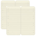 Dream Street Papers - Journaling Essentials Collection - 12x12 Die-Cuts - Ivory Rectangles