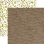 Dream Street Papers - Merry and Bright Collection - Christmas - 12 x 12 Double Sided Paper - Joy