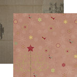 Dream Street Papers - Merry and Bright Collection - Christmas - 12 x 12 Double Sided Paper - Magic