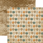 Dream Street Papers - Sam Collection - 12 x 12 Double Sided Paper - Seasons Of Change