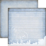 Dream Street Papers - Urban Ink Collection - 12 x 12 Double Sided Paper - Reflections