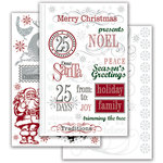 Deja Views - C-Thru - Little Yellow Bicycle - 25 Days of Christmas Collection - Metallic Rub Ons, CLEARANCE
