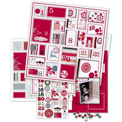Deja Views - C-Thru - Little Yellow Bicycle - 25 Days of Christmas Collection - Calendar Kit - Countdown to Christmas