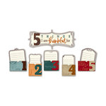 Little Yellow Bicycle - Acorn Hollow Collection - 5 Things Pocket with Embossed Accents