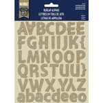 Little Yellow Bicycle - Naturals Collection - Alphabet Stickers - Burlap - Montara