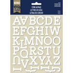 Naturals Collection - Alphabet Stickers - Cork - Esfera by Little Yellow Bicycle