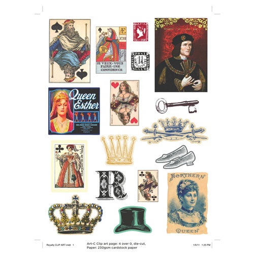 Deja Views - C-Thru - Art-C Collection - Collage Elements - Royalty
