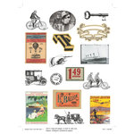 Deja Views - C-Thru - Art-C Collection - Collage Elements - Antique Transportation