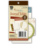 Deja Views - C-Thru - Little Yellow Bicycle - Autumn Bliss Collection - Journal Tablet , BRAND NEW