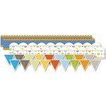 Deja Views - C-Thru - Little Yellow Bicycle - BabySaurus Collection - Canvas Stickers - Borders
