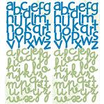 Deja Views - C-Thru - Little Yellow Bicycle - Baby Safari Boy Collection - Cardstock Stickers - Alphabet
