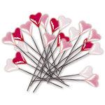 Deja Views - C-Thru - Little Yellow Bicycle - Cupcake Love Collection - Heart Stick Pins