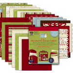 Deja Views - C-Thru - Little Yellow Bicycle - Christmas Delight Collection - Paper Tablet with Foil Accents - 6 x 7