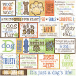 Deja Views - Pet Collection - Fresh Verse Vellum - Dog