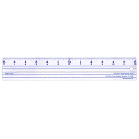 Deja Views - Zero Centering Ruler - 12 inch