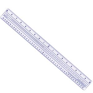 Deja Views - Zero Centering Ruler - 18 inch