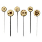 Little Yellow Bicycle - Feels Like Home Collection - Wood Stick Pins