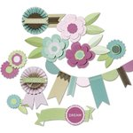 Little Yellow Bicycle - Fern and Forest Girl Collection - Paper Crafting Kit
