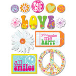 Deja Views - C-Thru - Little Yellow Bicycle - Free Spirit Collection - Fabric Stickers - Favorites, CLEARANCE