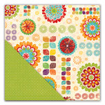 Deja Views - C-Thru - Little Yellow Bicycle - Hello Fall Collection - 12 x 12 Double Sided Paper - Autumn Medley