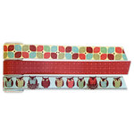 Deja Views - C-Thru - Little Yellow Bicycle - Hello Fall Collection - Canvas Tape Rolls
