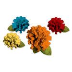 Deja Views - C-Thru - Little Yellow Bicycle - Hello Fall Collection - Felt Flowers